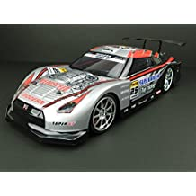 [Painted] 1/14 drift RC full set Nissan R35 GTR TYPE (silver) with LED
