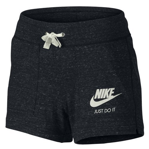 Nike Womens Gym Vintage Shorts Black/Sail 726063-010 Size X-Small (3 Pack) by NIKE (Image #1)