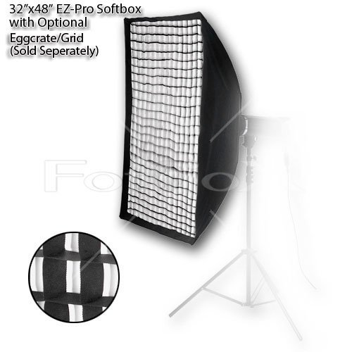 Fotodiox EZ-Pro 32x48in (80x120cm) Softbox - Quick Collapsible Softbox with Bowens Insert (Strobe Speed Ring)