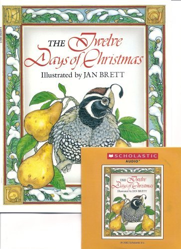 The Twelve Days of Christmas Book and Audio CD Set (Paperback Book and Audio CD)