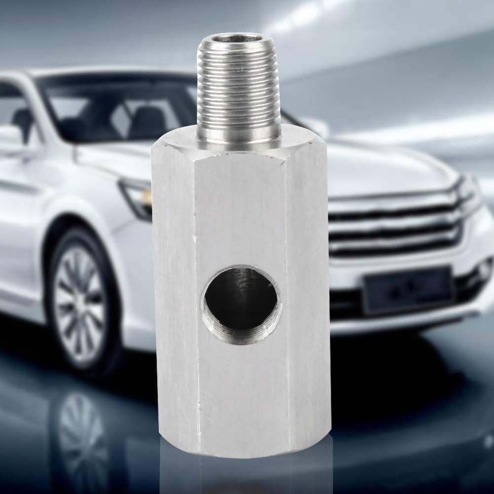 Fydun Sensor de presi/ón de aceite 1//8BSPT Tee Junta para NPT Adaptador Medidor de l/ínea de alimentaci/ón Turbo Supply