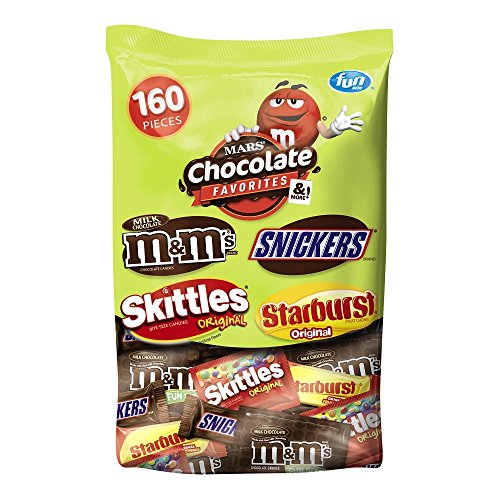 MARS Chocolate and More Favorites Halloween Candy Variety Mix 73-Ounce 160-Piece (M And M Halloween Candy)