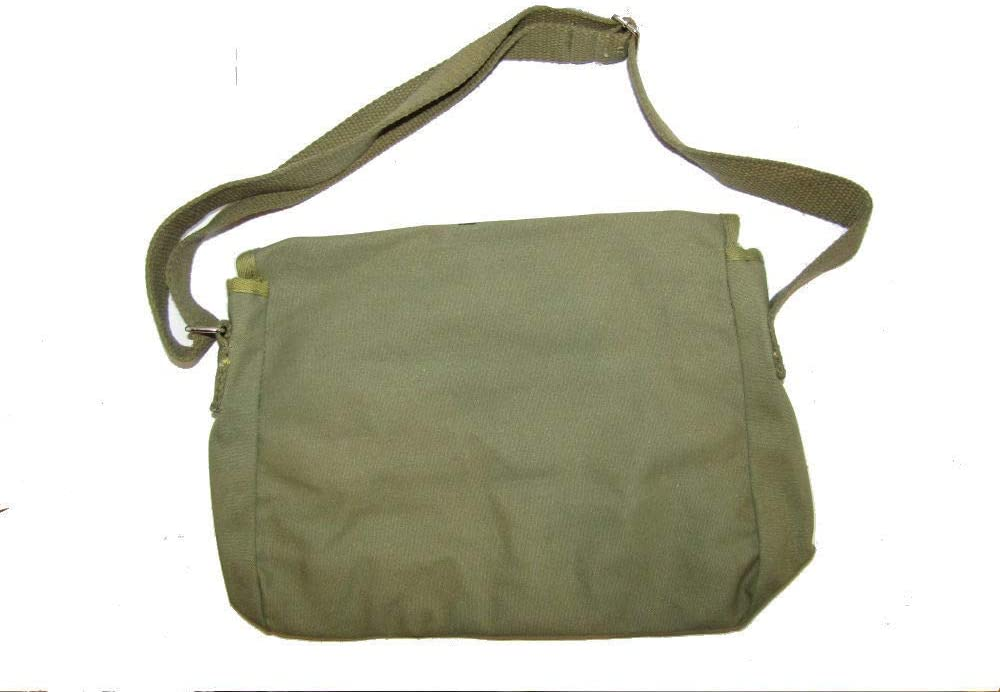 """Chairman Mao /""""Service to the People/""""  Olive Drab Messenger Bag"""