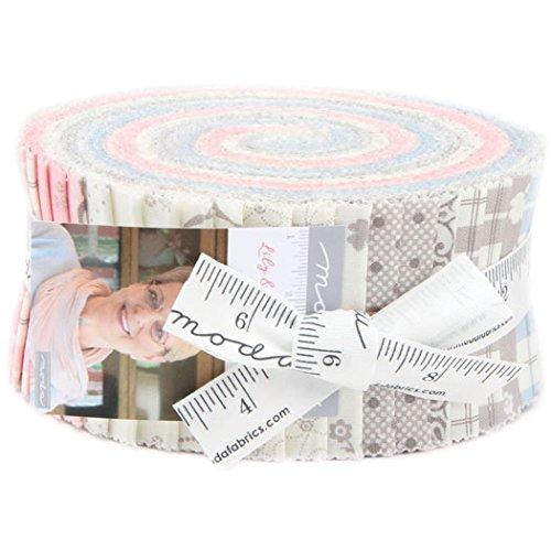 Moda Fabric Strips - 9