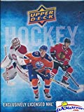 2016-17 Upper Deck Series 1 NHL Hockey Awesome Starter Kit with 5 Packs, Ultra Pro Binder that holds up to 252 Cards, Checklist Poster, Collector's Guide & EXCLUSIVE Sophomore Sensations Card! Wowzzer