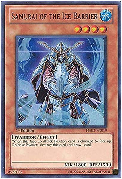Yugioh Cards CARAVAN OF THE ICE BARRIER HA03 SUPER RARE # H43
