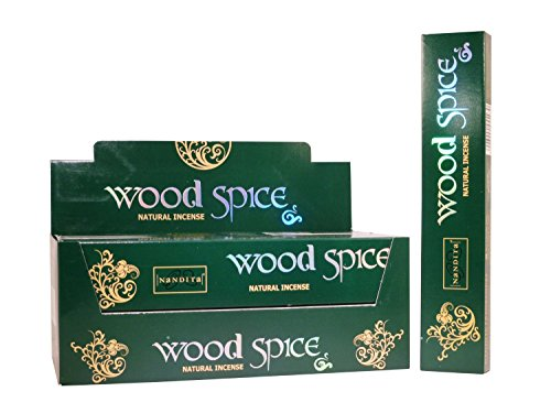 Wood Spice Stick - Nandita Wood Spice Natural Incense