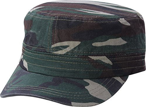 [QML CADET Cotton adjustable Twill Cap ( 2 STYLES, 35 COLORS ) (2 TYPE, CAMOUFLAGE)] (Army Outfits For Women)
