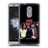Official AC/DC ACDC Highway To Hell Album Cover Soft Gel Case for ZTE Axon 7 Mini