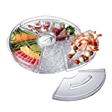 Prodyne 17409 Appetizer On Ice with Lids