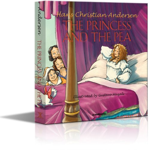 Princess Pea Fairy Tale - Fairy Tale - The Princess and the Pea - Hans Christian Andersen Fairy Tales Board Book