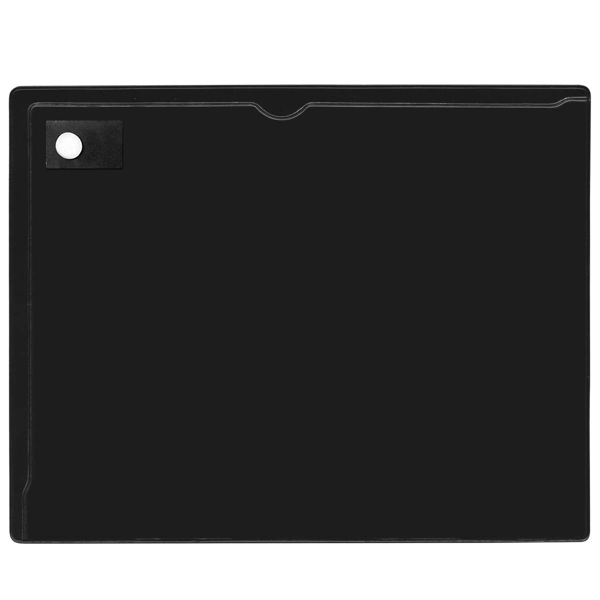 StoreSMART - Magnetic Closure Pocket - 10-Pack - Black - 8.5'' x 11'' (MCP8511P-PQBK-10)