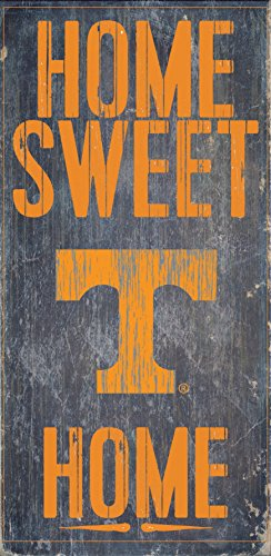 Fan Creations Tennessee Volunteers Wood Sign - Home Sweet Home ()