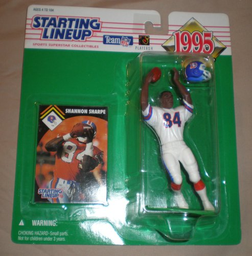 Starting Line Up 1995 Shannon Sharpe Denver Broncos Action - Mall Stores Denver In