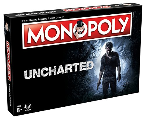 - Winning Moves Games Uncharted Monopoly Board Game