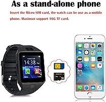 XTHAILIANG Smartwatch con Podómetro, Reloj Inteligente Android con ...