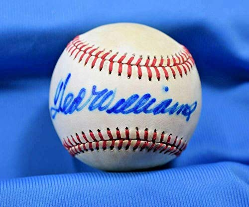 Ted Williams Signed Ball - Coa MacPhail American League - PSA/DNA Certified - Autographed Baseballs