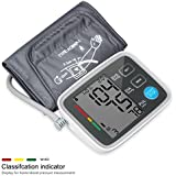 Automatic Digital Upper Arm Blood Pressure Monitor With Irregular Heartbeat Indicator LCD ...