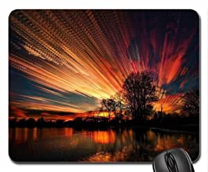 Amazing Sunset Mouse Pad, Mousepad (Sky Mouse Pad)