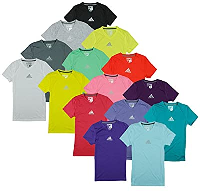 Adidas Youth Big Girls Ultimate Athletic V-Neck Tee