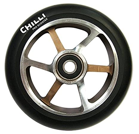 Amazon.com: Chilli Pro Scooter 110 mm de neón 6 Radios Rueda ...