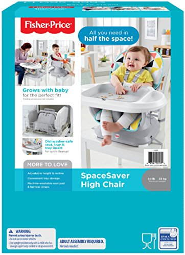 Fisher-Price SpaceSaver High Chair, Multicolor by Fisher-Price (Image #4)