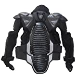 1STORM MOTORCYCLE MOTOCROSS BIKE GUARD PROTECTOR ADULT BODY ARMOR BLACK