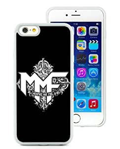 Hot Sale iPhone 6 4.7 Inch TPU Case ,Beautiful Unique Designed Case With Memphis May Fire logo 1 White iPhone 6 Cover