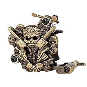 Gothobby empaistic pro skull tattoo machine for Amazon tattoo machine