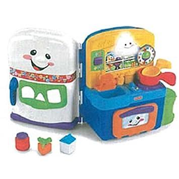 e382a3ac6 Fisher-Price - Cocina Aprendizaje (mayores de 6 meses) (Mattel): Amazon.es:  Juguetes y juegos