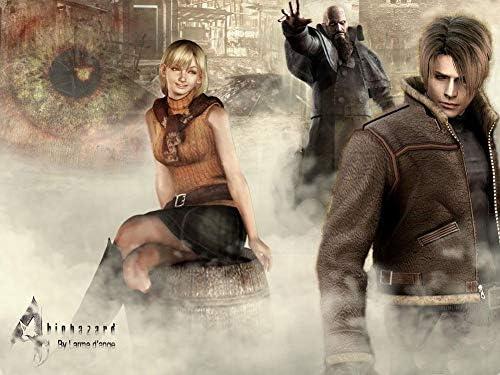 Amazon Com Jinjing Prints Resident Evil 4 Ashley Graham 32inch X