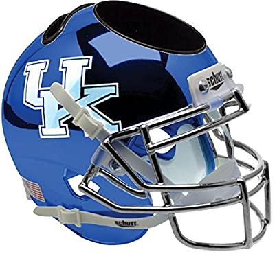 Kentucky Wildcats Miniature Football Helmet Desk Caddy - NCAA Licensed - Kentucky Wildcats Collectibles