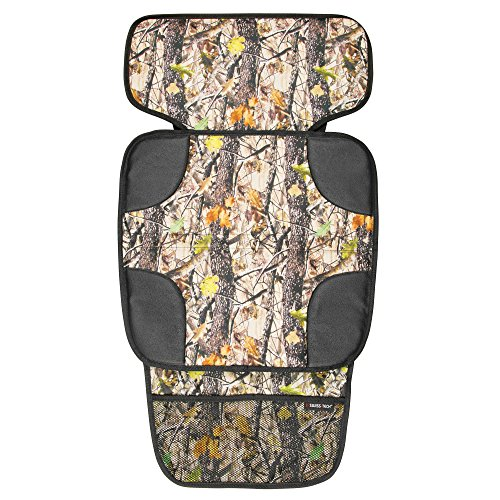 swiss-tech-st80460-deep-forest-black-woodland-child-car-seat-protector-cover-and-organizer-for-snack