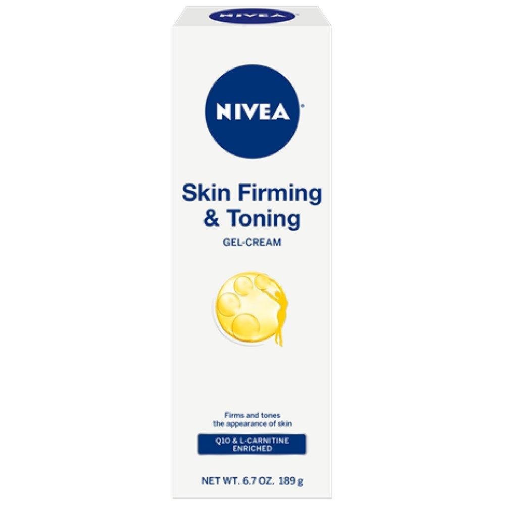Nivea Skin Firming & Toning Gel Cream, 6.7 Oz (Pack of 2) Niv-0186