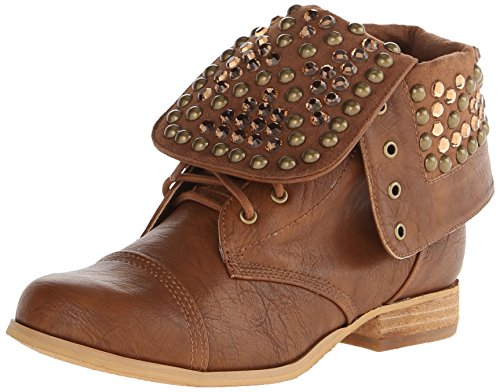 Not Rated Women's Trance Boot, Tan, 6.5 M US