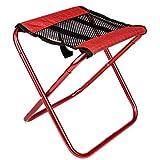 MUTANG Small size outdoor fishing chair folding portable small horse folding stool aluminum alloy light stool mini stool ultra light folding stool