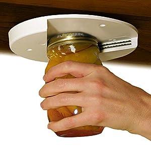 Amazon.com: EZ Off Jar Opener For All Jar Sizes, White: Kitchen ...