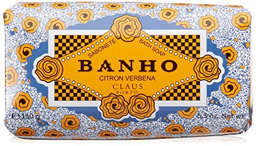 Claus Porto Milled Soap - Claus Porto Banho Citron Verbena, 5.3 Ounce