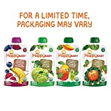 Happy Baby Organic Stage 2 Baby Food Simple Combos Variety Pack, 4 Ounce Pouch (Pack of 16), Assorted Flavors, Flavors May Vary: more info