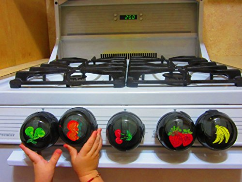 Safety Handpainted Fruits Stove Covers product image