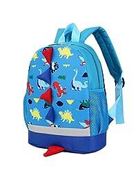 XILALU Baby Boys Girls Kids Dinosaur Pattern Animals Backpack Toddler School Bag by