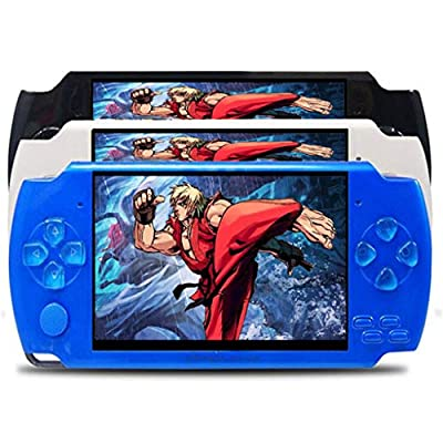 AMOFINY Baby Toys Cool Child X6 8G Handheld Game Console Handheld Game Console 8Gb 4.3inch Screen 500 Classic Games Video Game Console