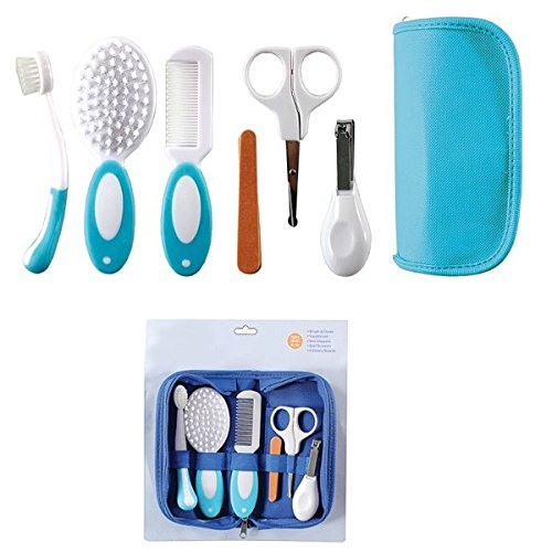 6Pcs Baby Kid Grooming Medical Nursing Nail Clipper Comb Toothbrush Suit Set by NEW BORN NEW HOPE