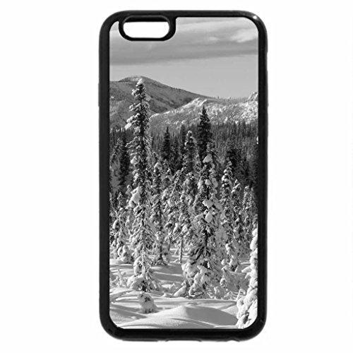 iPhone 6S Case, iPhone 6 Case (Black & White) - Fossel Creek Valley, Arizona