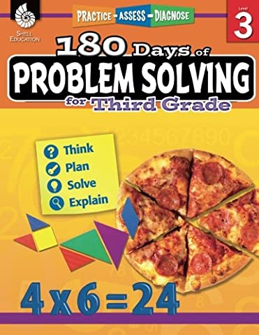 180 Days of Problem Solving for Third Grade (180 Days of Practice) (Geography Practice)