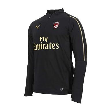 0892ac277f9 Puma AC Milan 18 19 - Haut de Foot Entraînement 1 4 Zip Joueurs ...