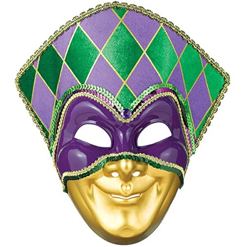 Mardi Gras Party Jester Mask