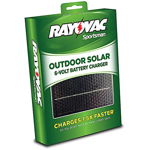 Rayovac High Performance 6V Outdoor Solar Battery Charger Ga
