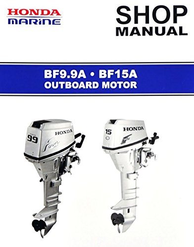 Price comparison product image Honda BF9.9A,  BF15A,  Outboard Engine Repair Service Manual CD / DVD / PDF