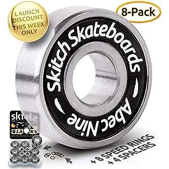 Skate Bearings Speed Master  Abec 3  8mm